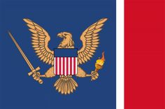 Flag of the American Union State (Kaiserreich) Earth Flag, American Union, North America Map, Age Of Empires, Flag Art, Alternate History, State Of The Union, Flags Of The World, Country Art