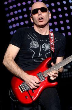 Joe Satriani performs in support of the his Professor Satchafunkilus. Joe Satriani, Professor, Rock, Music, Guitars, Teacher, Musica, Musik, Skirt