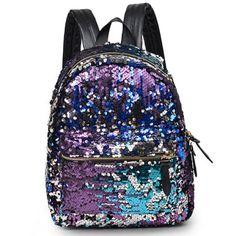 6c1c82da539a Cool! Fashion Shining Sequin Stars BackpackSchool Bag just  44.99 from  Atwish.com! I