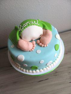 Baby Butt Baby Shower Cake Boy