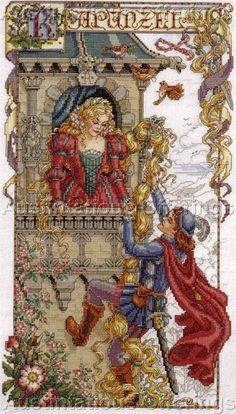Schema Favola Rapunzel