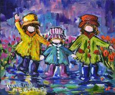 Happy Us by Katerina Mertikas, Acrylic on Canvas, Painting | Koyman Galleries