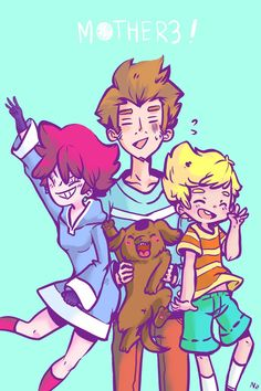 Mother 3:We are numbah 3! by Nippo