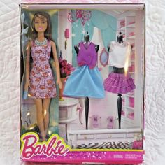 Mattel Barbie Doll Fashion Barbie with Two Outfits and Accessories #Mattel #Accessories
