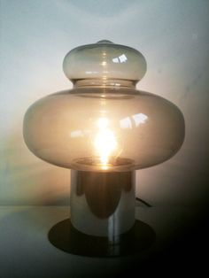 Space Age Table Lamp - Raak. $320.00, via Etsy.