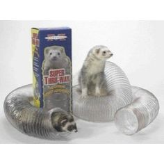 This Ferret tunnel is perfect for winding around your house to get your ferret active :)