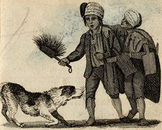 Cries of London, illustrated 1803 from Spitalsfield blog Sweep! Sweep!