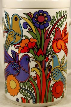 "In the mid 70's I bought a set of dishes in this pattern for my mother, she loved them… (Villeroy AND Boch ""Acapulco"")"