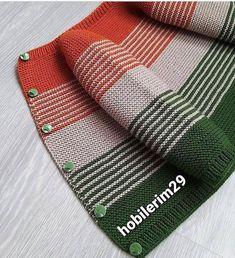 """@narin_emekler shared a photo on Instagram: """"Bu güzel hırkanın anlatımı için yana kaydırabilirsiniz 😍 @hobilerim29 ❤️ . . . #örgü #örgümodelleri #örgüm #örgüfikirleri…"""" • Dec 20, 2020 at 5:53pm UTC Baby Knitting Patterns, Knitting Designs, Knitting Projects, Hand Knitting, Knitted Baby Clothes, Knitting Needles, Color Combinations, Crochet, Fashion"""