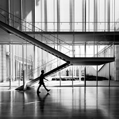 Staircases of the Art Institute of Chicago | Modern Wing : Renzo Piano | Angie McMonigal Photography