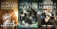 George R.R. Martin's Wild Cards Series Coming to TV  Wild Cards is headed to television series creator George R.R. Martin has announced.  In a post on his Live Journal Martin confirmed that Universal Cable Productions (UCP) has acquired the rights adapt his beloved novel series into a TV show. Melinda M. Snodgrass is on board as executive producer alongside SyFy Films'Gregory Noveck.   Three novels from GRRM's expansive Wild Cards series via GRRM's Live Journal  Continue reading…