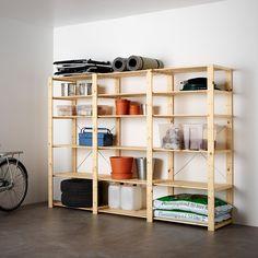 HEJNE 3 Elem/Böden - Nadelholz - IKEA Deutschland Cube Storage Unit, Storage Shelves, Storage Systems, Pantry Storage, Extra Storage, Storage Organizers, Shelving Units, Ikea Hejne, Ivar Regal