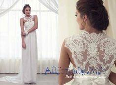 Кружевная спина на платье