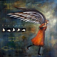 Il·lustració de Duy Huynh....#wings