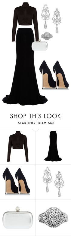 """""""Untitled #167"""" by dreamer3108 on Polyvore featuring BCBGMAXAZRIA, Naeem Khan, Casadei, Wrapped In Love, Alexander McQueen, women's clothing, women, female, woman and misses"""