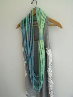braided string scarf