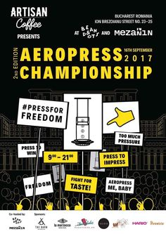 Save the date! Fight For Freedom, Bucharest Romania, Barista, Coffee, Posters, Ephemera, French, Kaffee, French People
