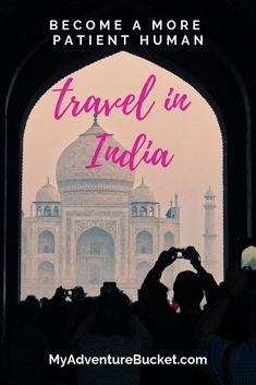 Do you feel like you could stand to be a more patient person? Have you thought about traveling in India? I can't recommend it enough. Packing List For Vacation, Packing Tips For Travel, Vacation Trips, Best Places To Travel, Cool Places To Visit, India Destinations, Weather In India, Patient Person, Backpacking India
