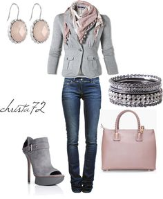 """Grey Day"" by christa72 on Polyvore"
