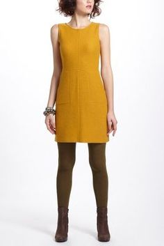 i like the yellow....Shyle Sweater Shift - Anthropologie.com