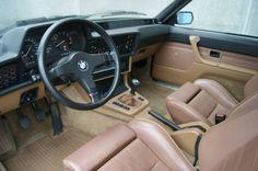 BMW M635CSI 1985 interior