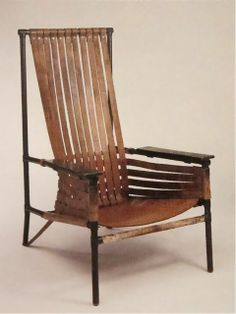 Gerrit Rietveld; Armchair, 1925.
