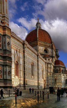 Florence, Italy - We enjoyed Florence so much more than our soggy day in Rome. It's much smaller and more walkable, and the sheer number of landmarks and historical artwork in such a small area is breathtaking. Mediterranean Cruise, 2012,