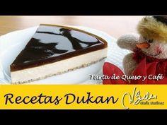 Tarta de queso y café (Ataque) – Recetas Dukan Maria Martinez
