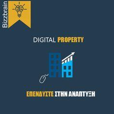 Digital Property Development for Business  #digitalproperty #digitalmarketing #bizzbrain #bizz