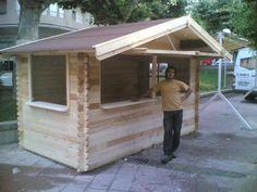 kiosco de madera para jardin - Buscar con Google Food Court, Cafe Bar, Pool Houses, Kiosk, Bars For Home, Food Truck, Coffee Shop, Shed, Backyard