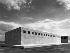 Gerhard Merz with EDM Architekten, art storage and display space, Dresden 1998