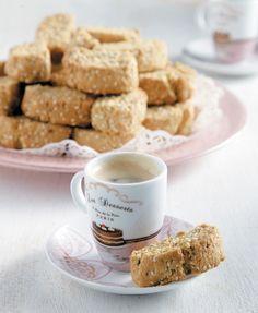 Νηστίσιμα γλυκά Archives - Page 3 of 9 - www. Greek Sweets, Greek Desserts, Greek Recipes, Sweets Recipes, Cookie Recipes, Greek Cookies, Cookie Tutorials, What To Cook, Nutella