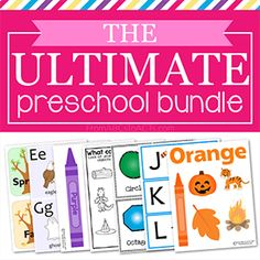 Buy the Ultimate Preschool Bundle