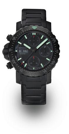 Kobold black ops chronograph