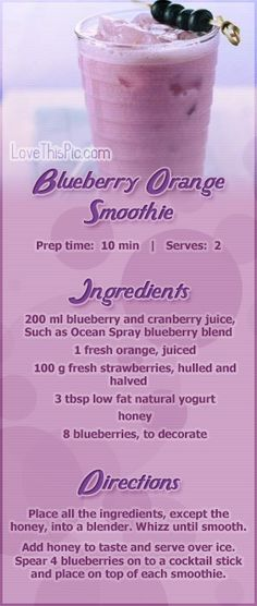 Bluberry smoothie recipe recipes easy recipes smoothie recipes smoothies smoothie recipe easy smoothie recipes smoothies healthy smoothie recipes for weight loss