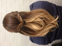 Ombre hair... don't care if it's going out of style anytime soon. Love not having to take care of roots!