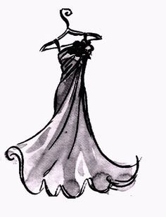 Image result for party dress drawings