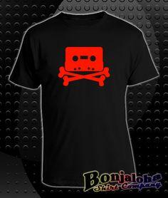 Music Pirate (T-Shirt) - Outlaw Custom Designs, LLC