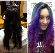 Com que cor você vai passar o ano novo? Com várias! ❤️🎨 Trabalho da equipe da hairstylist do Circus Augusta, @babisodc13 🎪 #circus #circusaugusta #colornocircus #circushair #dezembro2016 #beleza #cabeloscoloridos