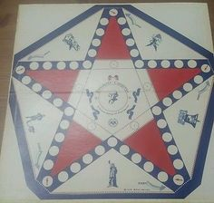 Presidents category 1978 mihaly weiland vintage board game of presidents USA