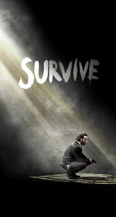 Download The Walking Dead Season 5 Survive Rick iPhone 6 Plus HD Wallpaper