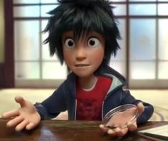 This boy is from Big Hero 6 but he reminds me of Nico so much so i'm putting him in this board...