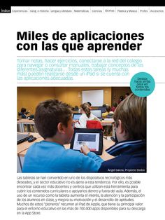 Educación tecnológica: Guía Apps de Educación 3.0 Software, M Learning, Web 2.0, Teaching Spanish, Ipad, Teacher, Education, Diy, School