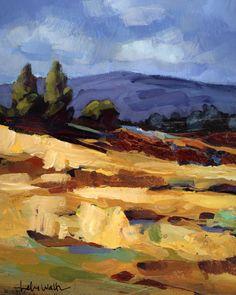 High Desert Landscape Original Painting.