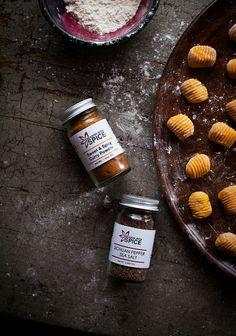 Sweet & Spicy Powder & Sichuan Pepper Sea Salt for Curry-Spiced Kabocha Gnocchi with Roasted Cauliflower