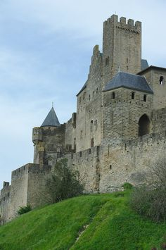 """500px / Photo """"The fortress of Carcassonne"""" by Eric Leblond"""