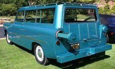 1955 or 1956 Powell (Brothers) Sport Wagon with pull-out drawers for fishing rods and rifles.