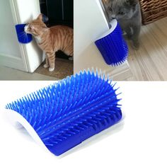 Cheap cat supplies, Buy Quality cat massage directly from China supplies cats Suppliers: Ortilerri Pet Products Cats Supplies Cat Massage Device Self Groomer With Catnip Pet Toy For Cat Brush Comb Catnip Toys, Pet Toys, Dog Shedding, Cat Hair, Cat Supplies, Cat Grooming, Cute Cats, Funny Cats, Cats And Kittens