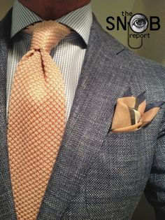 The Snob Report : Photo(blouse should be Soft Grey or Soft yellow Same Color as the tie)☺