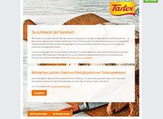 Gewinnt 10 Cremisso Bio-Produktpakete von Tartex! Auf der Facebook-Seite von Tartexkönnt ihr nur noch bis heute...